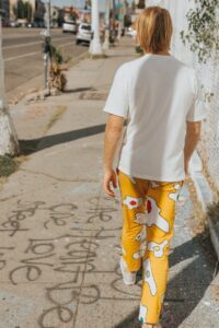 Patterned trousers latest fashion trends for men