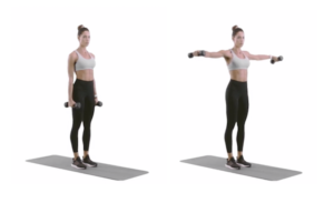 exercise for shoulders female