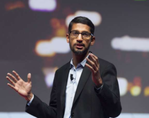 SUNDAR PICHAI - highest paid ceo