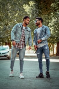 Double Denim men's new clothing trends