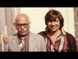 Kiran-Mazumdar-shaw-and-Her-Father