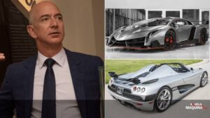 Cars owned by Bezos