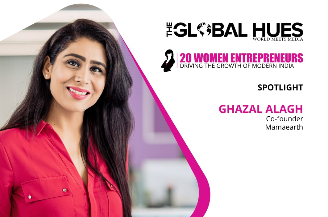 Ghazal Alagh interview with The Global Hues
