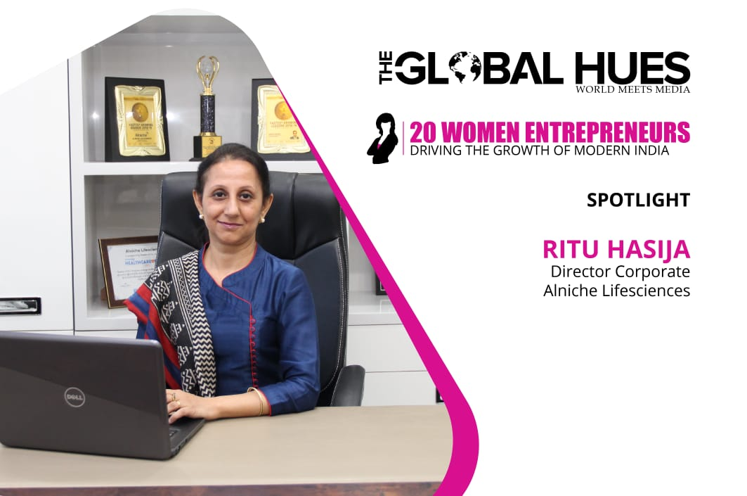 alniche lifesciences- Ritu Hasija interview