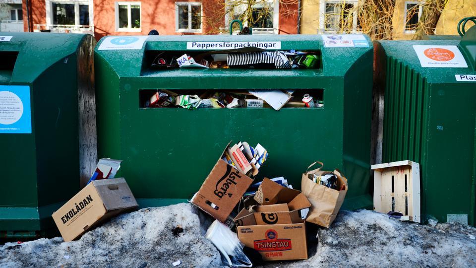 Sweden garbage import